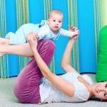 Äiti – vauva – jumppa (miksei isällekin)