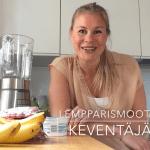 Extrahelppo smoothie marjoista – Katso video!