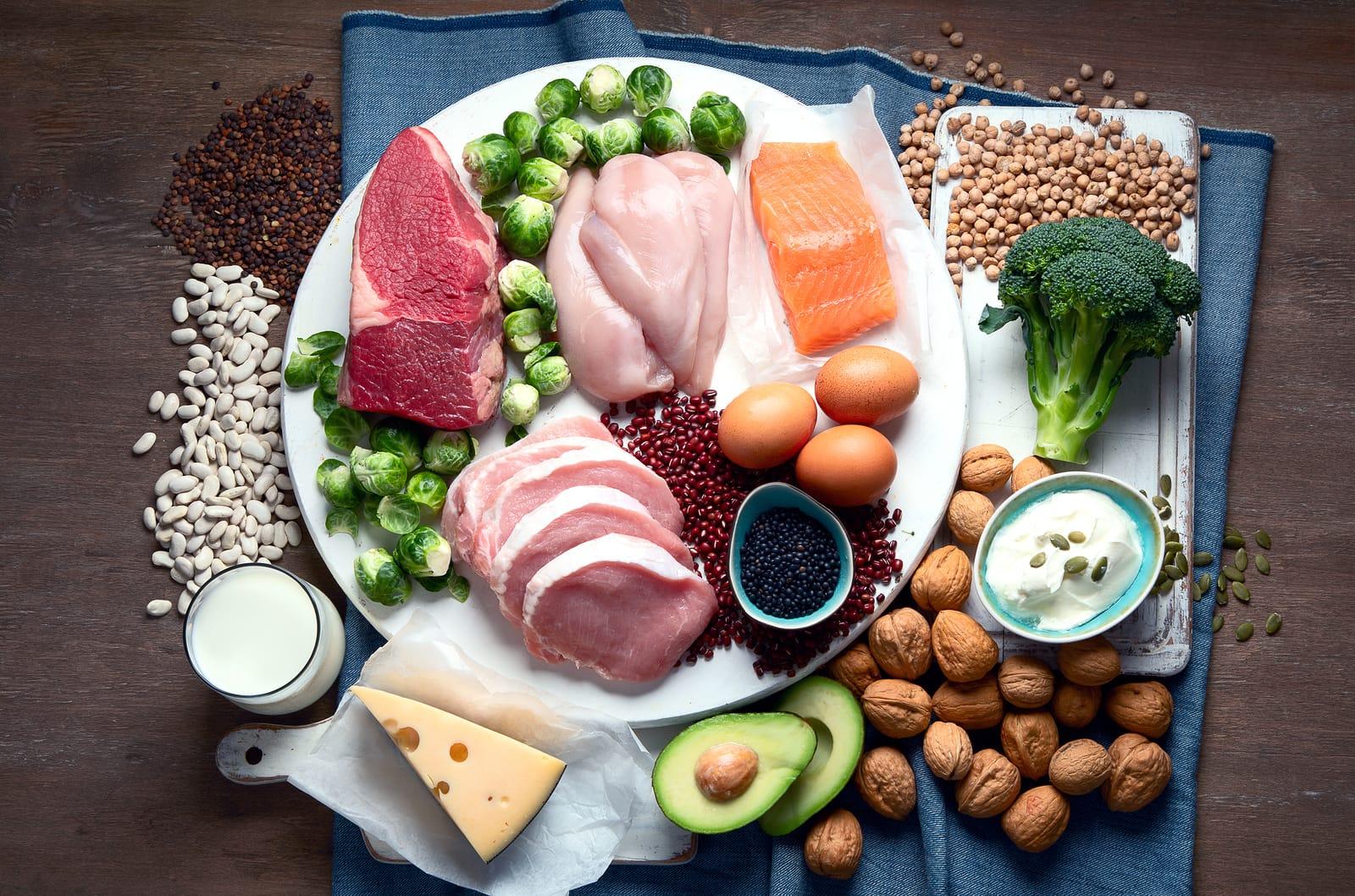 Proteiinipitoinen Ruokavalio